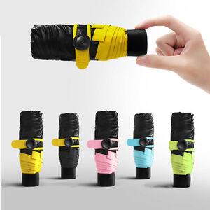 Fashion Mini Umbrella Compact Folding Travel Parasol Super Light Portable Small