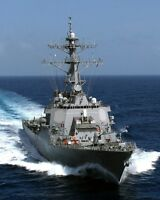 8x10 Photo: Uss Cole (ddg 67), U.s. Navy Guided Missile Destroyer Ship