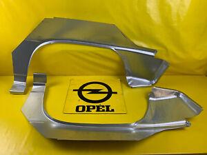NEU-Satz-Reparaturblech-Radlauf-Opel-Kadett-E-GSi-Radlaufblech-Endspitze-Blech