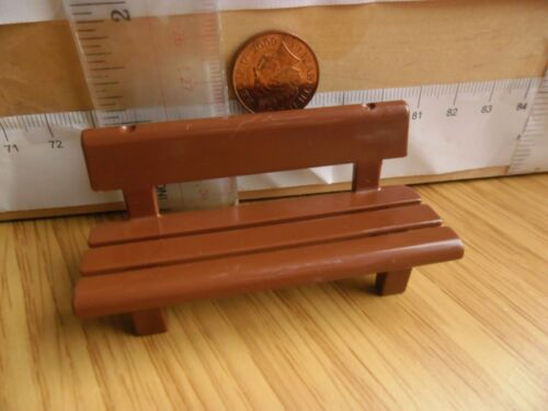 Playmobil New Spares Gold Arm Rests 5335 Park Bench