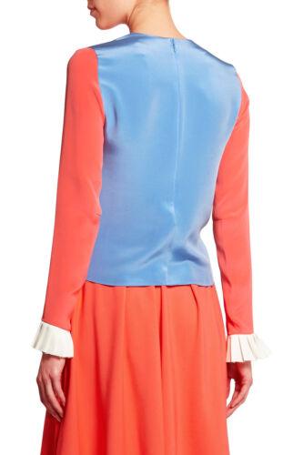 Roksanda Uk Top blend Silk block 6 Color HqUSz