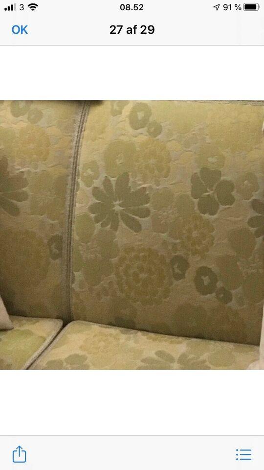 Sofagruppe, stof, 6 pers.