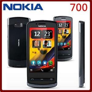 """Nokia 700 3 g WiFi GPS 5MP 3.2"""" Écran Tactile Téléphone Portable Débloqué Original"""