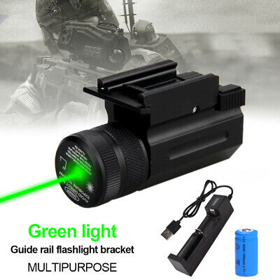Tactic Quick Release Flashlight Laser Torch Sight Scope Mount Holder G