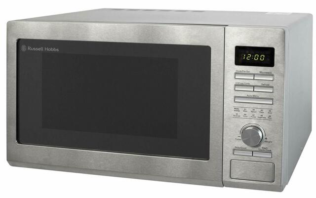 Rus Hobbs 30l Digital Combination Microwave With Grill 900w Stainless Steel