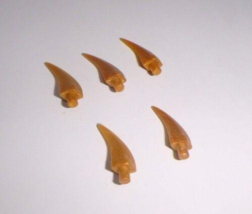 5 Zähne/Krallen/Hörner in pearl gold aus 6231 9449 2507 2519 9444 87747 Lego