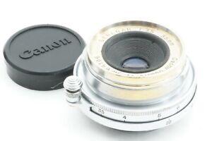 Selten-034-getestet-EXC-034-Canon-Serenar-35mm-f3-5-Leica-Screw-Mount-l39-LTM-Japan