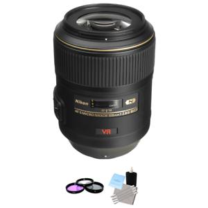 Nikon-AF-S-VR-Micro-Nikkor-105mm-f-2-8G-IF-ED-Lens-UV-Kit-amp-Cleaning-Kit