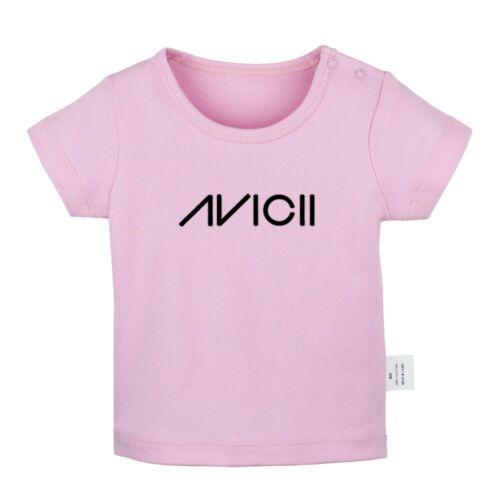 Music Dj Avicii Newborn Baby T-shirts Infant Clothes Toddler Graphic Tee Vest