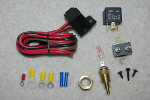 sbc thermostat wiring electric fan complete wiring install kit thermostat 40 amp relay  electric fan complete wiring install