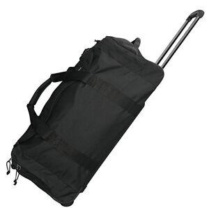 Trolley-schwarz-Reisetasche-70-Liter-L-Rolltasche-Trolly-Tasche-Rucksack-Koffer
