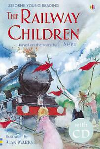 034-VERY-GOOD-034-The-Railway-Children-Young-Reading-Series-2-CD-E-Nesbit-Book