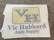 """Huge Vic Hubbard Decal 27"""" X 34"""" Only 1 Left Speed Shop VH"""
