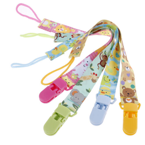 1Pc Newborn baby pacifier clips chain strap soother dummy nipple holder Fad HGU