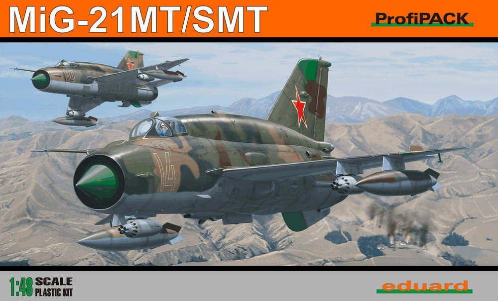 MiG-21SMT 1 48 Eduard