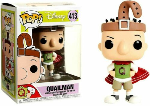 EXCLUSIVE Disney DOUG Vinyl Figure Funko QUAILMAN #413 POP