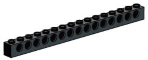 LEGO Mindstorms Technic Black 1 x 16 Beam part # 3703 NEW