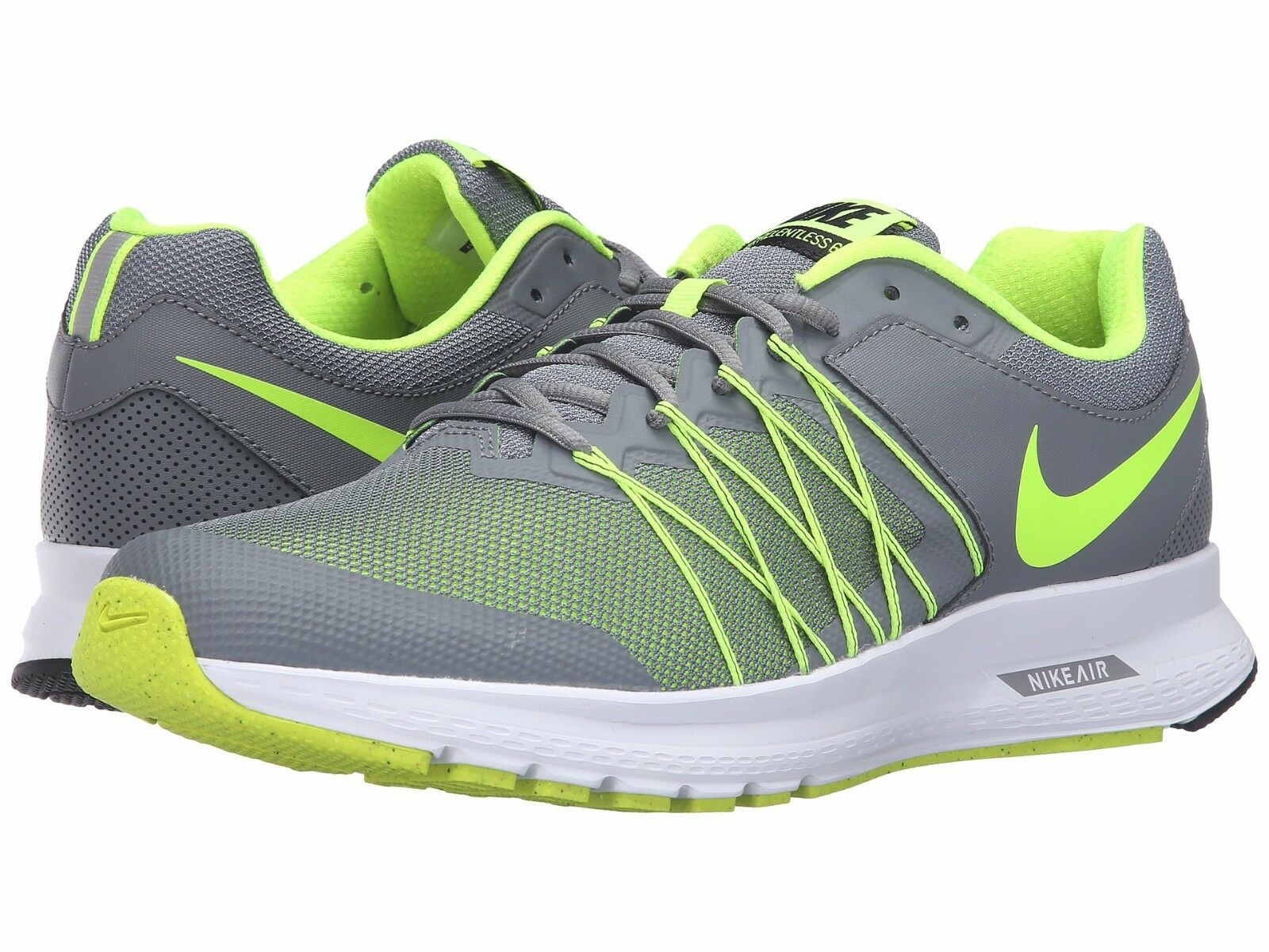 Men's Nike Air Relentless  Sneakers Cool 9 Grey/Volt/White Men's US Size 9 Cool ce5fff