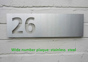 Neutraface Acero Inoxidable Número Casa//Número Placa