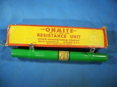 NOS Ohmite Plate Choke Z-4