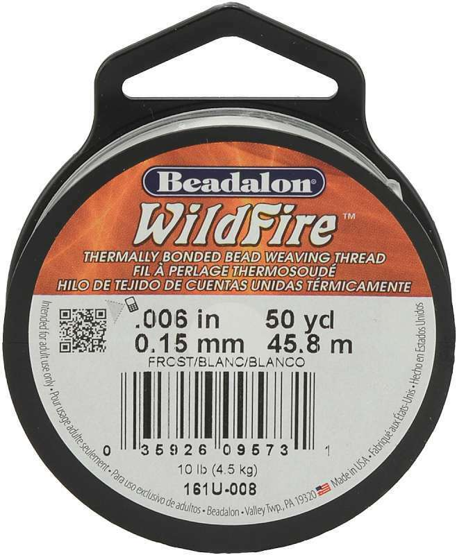 Beadalon® WildFire® Super Strong and Durable Beading Thread Many Colors