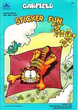 Vintage 1988 Golden Book Garfield Paint with Water Halloween