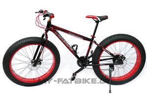 Fahrrad-Fatbike-Fat-Bike-26-034-verschiedene-Farben-Alu-Rahmen-21-Gang-Shimano-MTB