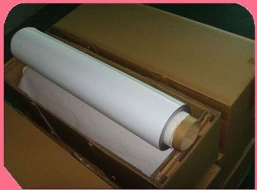 "Flex Magnetic Sign Material 24/"" x 10/' x 20 Mil  w//White Vinyl Laminate FS"
