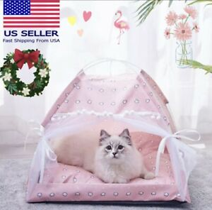 Winter-Soft-Pet-Dog-Cat-Bed-House-Kennel-Doggy-Puppy-Warm-Cushion-Basket-Pad-Mat