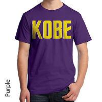 Kobe Bryant Los Angeles Lakers Graphic T-shirt Basketball Nba Star 409