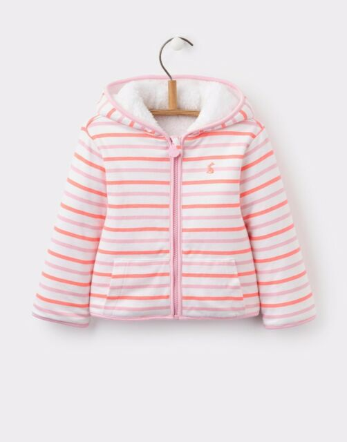 Joules Girls Zip Up Jacket Strong Packing Girls' Clothing (newborn-5t) Clothing, Shoes & Accessories