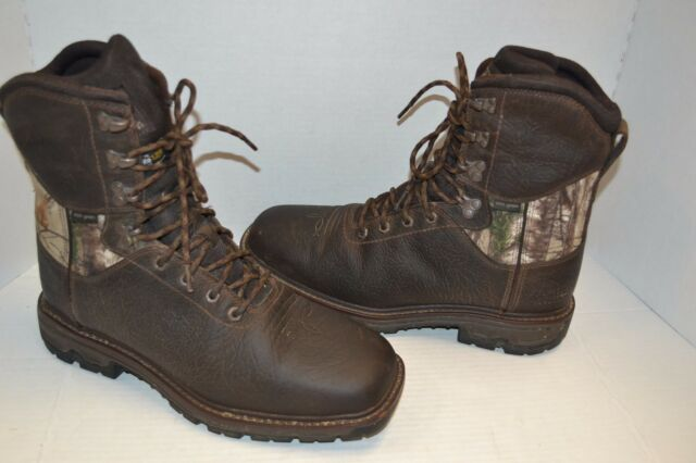 c2aecdbd2c6eb Ariat Mens 10.5 D Conquest H2o Waterproof 800G Insulated Hunting Boot  10016337