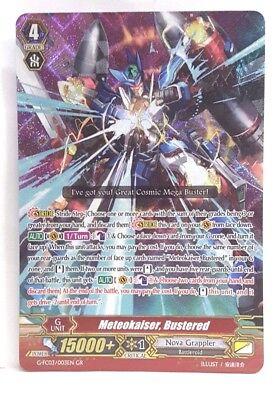 Bustered G-FC03//003EN GR Near Mint Bushiroad Cardfight! Vanguard Meteokaiser