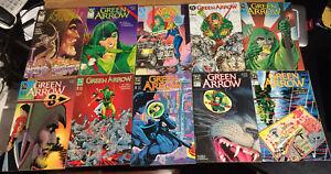 GREEN-ARROW-LOT-64-DC-comics-1998-98-VF-Mike-Grell-Dixon-Aparo-Balent-VF-TV