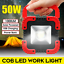 Waterproof-Garage-Work-light-Portable-COB-LED-50W-Rechargeable-Garage-Camping thumbnail 1