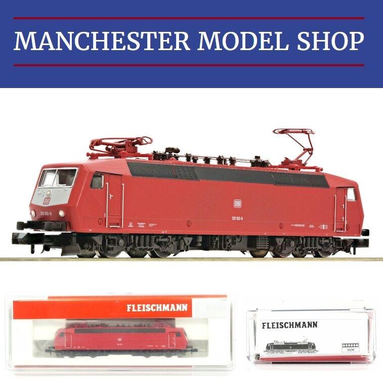 Fleischmann N 1 160 Electric locomotive 120 102-9 DB AG AG AG  DCC DIGITAL  NEW BOXED 3be0f7