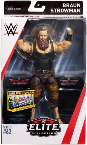 WWE Mattel Braun Strowman Elite Series #62 Figure
