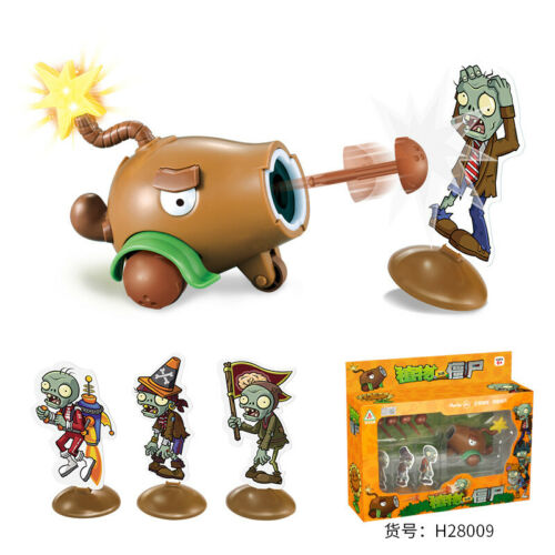 Plants vs Zombies Peashooter PVC Action Figure High Quality Toy Gifts Model Toy