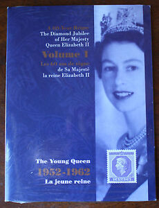 The Diamond Jubilee Of HRH Queen Elizabeth II Volume 1 Stamp Collection Sealed
