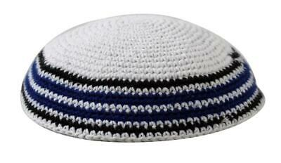 Body-Soul-n-Spirit Kippahs Holy Gray Cupola Yarmulke Knitted Scared Jewish Yamaka Kippa Knoll Hat Covering Cap