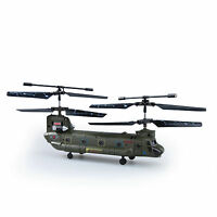 Us Syma S026g 3 Ch Remote Control Mini Chinook Rc Helicopter With Gyro Toy Gift