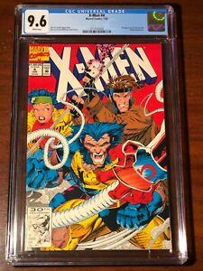 X-Men-4-1-92-CGC-Graded-Comic-Book-9-6-NM-Jim-Lee-Art-1st-appear-Omega-Red