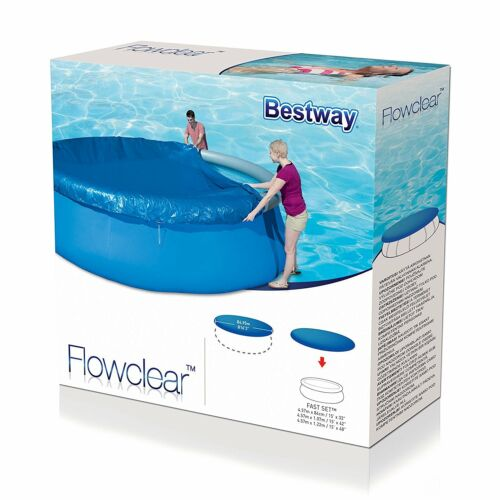 Bestway Debris//Weather All Size Pool Covers Solar Swimming Pool Protecting Sheet
