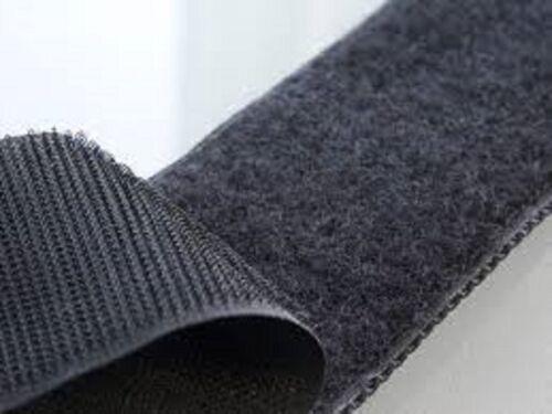 VELCRO® Brand 38mm Sew on Tape  Black 1 metre Hook /& 1 metre Loop