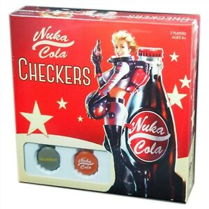Usaopoly-Fallout-Nuka-Cola-Checkers-Collector-039-s-Set-New-and-Sealed