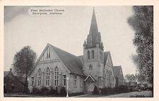 ENTERPRISE ALABAMA FIRST METHODIST CHURCH~217 S MAIN ST~ SILVERCRAFT POSTCARD