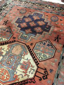 Tetex Tefzet alt Kasak Orientteppich Design