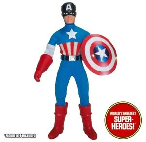 Mego-Captain-America-Red-Rubber-Gloves-For-8-Action-Figure-WGSH-Parts-Lot