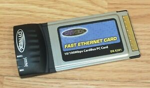 Dynex-DX-E201-Fast-Ethernet-Card-Link-Act-10-100Mbps-CardBus-PC-Card